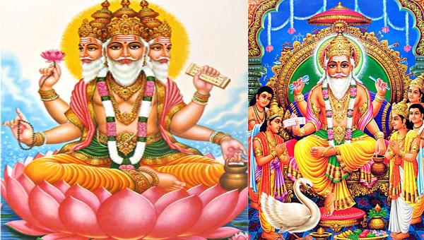 Array - creation of brahma  rh   onlinedarshan com